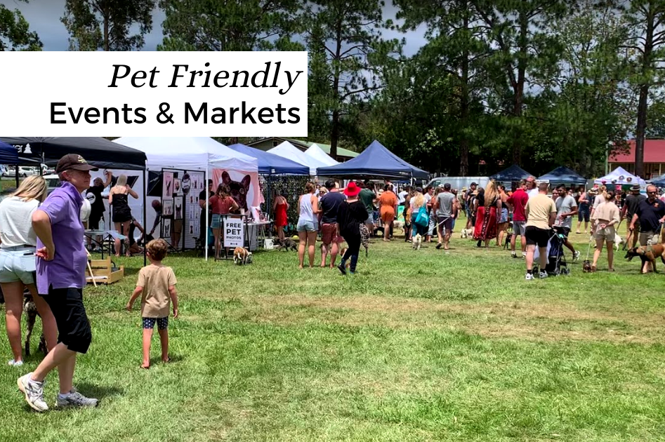 Pet Friendly Events and Markets