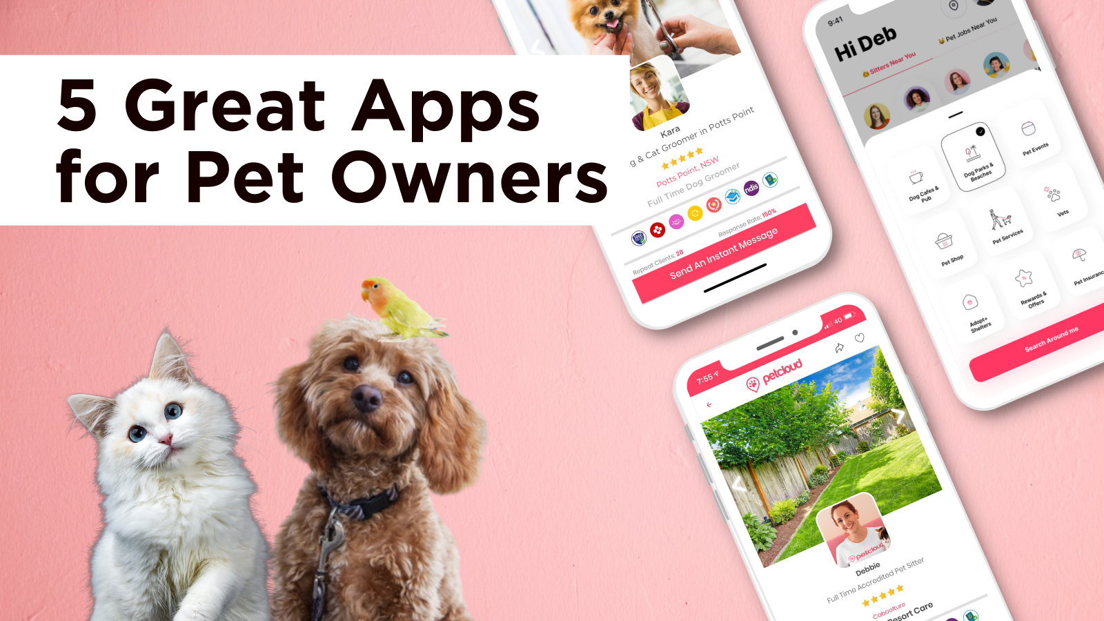5 Great Pet Apps for Pet Owners