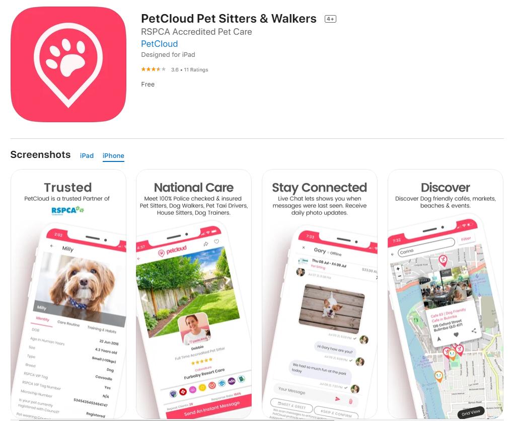 Pet App, Pet Health App, Pet Tech, PetCloud App