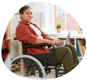NDIS Participant learning online with PetCloud course