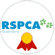 These Sitters have earned their RSPCA Qld Accredited Sitter badge to show they have the skills and knowledge it takes to give dogs & cats excellent standard of care