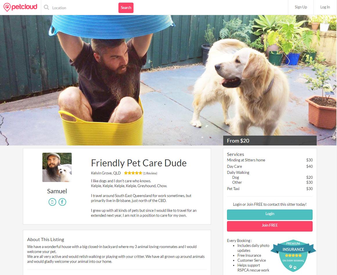 Friendly Pet Care Dude