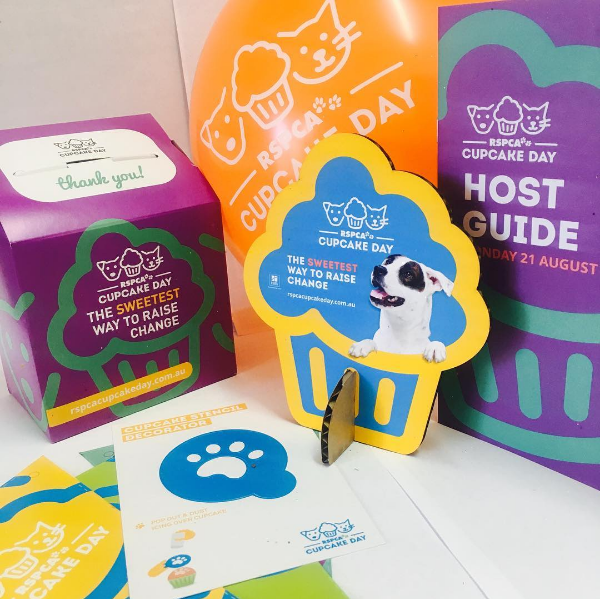 cupcake day, petcloud, rspca cupcake day, rspca, recipe, registration pack, host pack