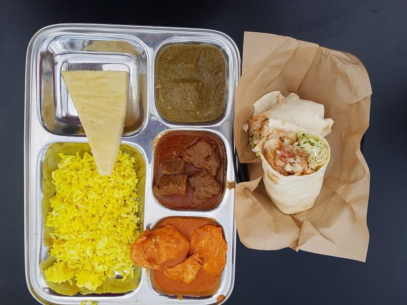 Types of internationa cuisines on board