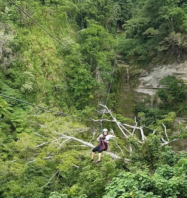 Vanuatu Jungle Canopy Zip Line