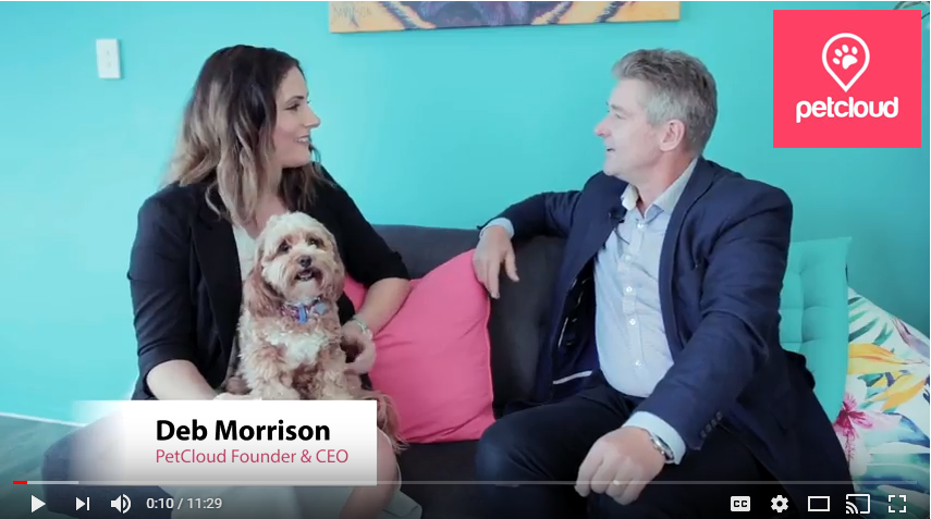 Deb Morrison, CEO of Pet Sitting company, PetCloud, gets advice from Dr Glen Richards