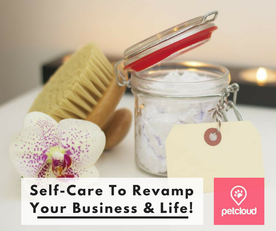 Pet Sitters Self Care, Revamp Your Business and Life, New Year New YOU, PetCloud, Self-Care Tips, How to take care of yourself, Pet Sitting Business, How to run a pet sitting business, blog article image