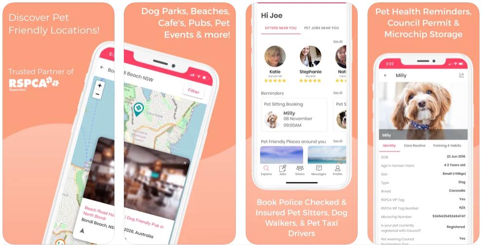 PetCloud App Vet App Pet App