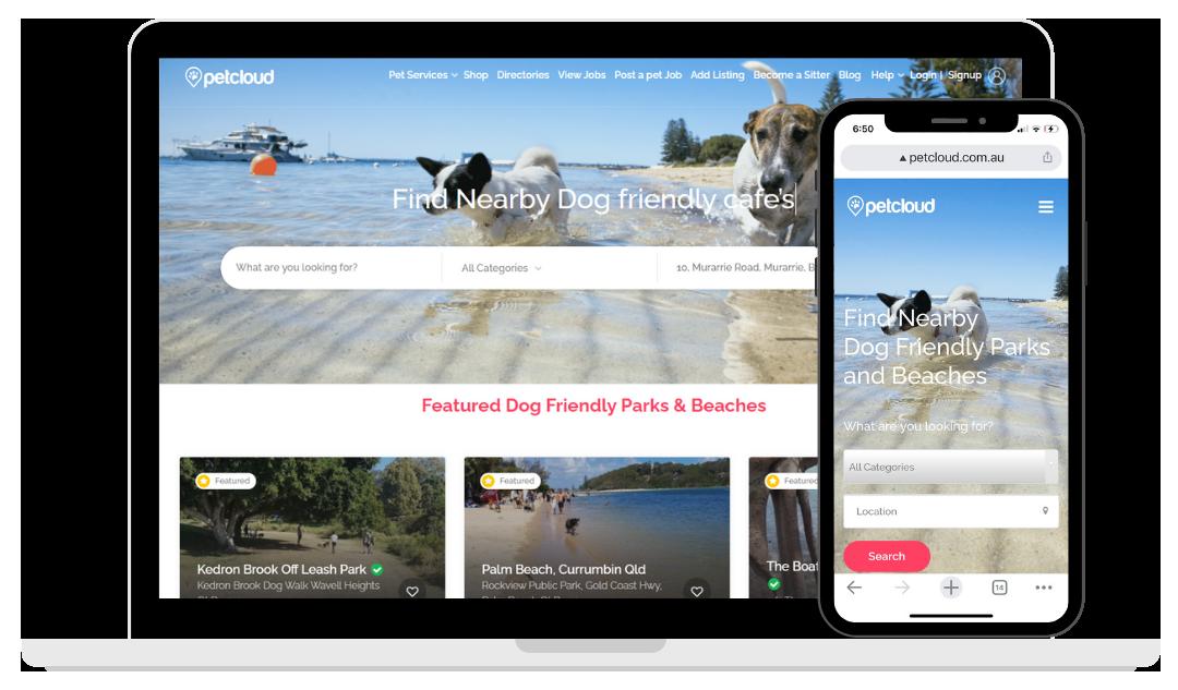 Dog Friendly Beaches Directory PetCloud Business Directory Vet Clinics
